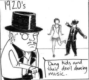 1920's Devil Dancing Music