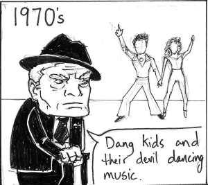 1970's Devil Dancing Music