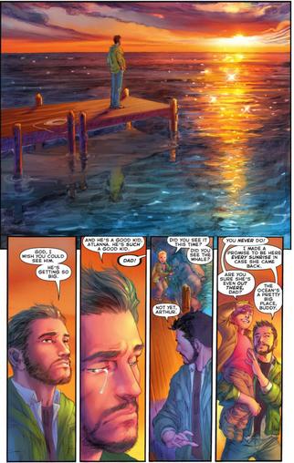 Memories Aquaman