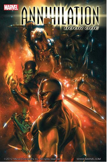 Annihilation Book 1 Cover